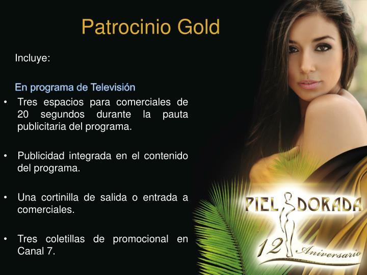 Patrocinio Gold