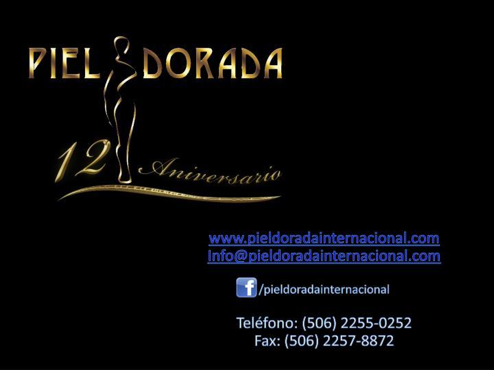 www.pieldoradainternacional.com