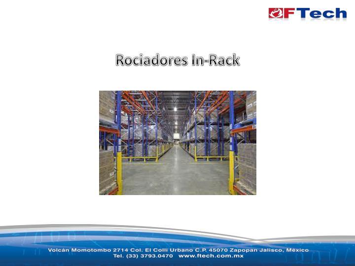 Rociadores In-Rack