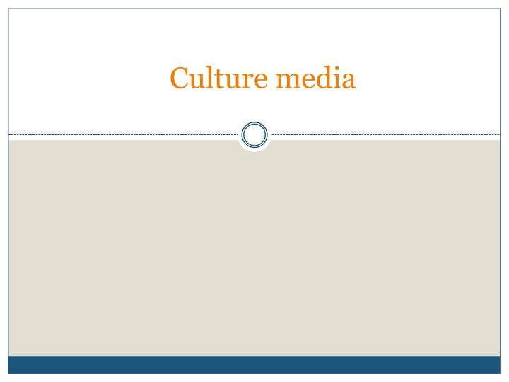 PPT  CULTURE PowerPoint presentation  free to download
