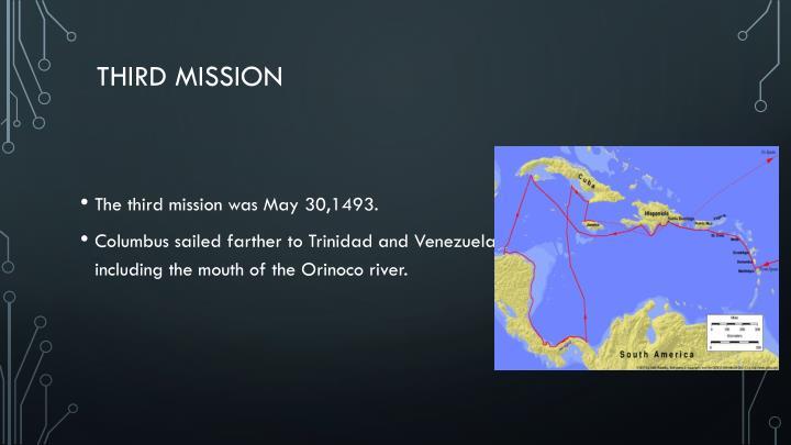 Third mission