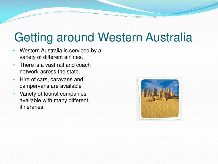 Getting around Western Australia
