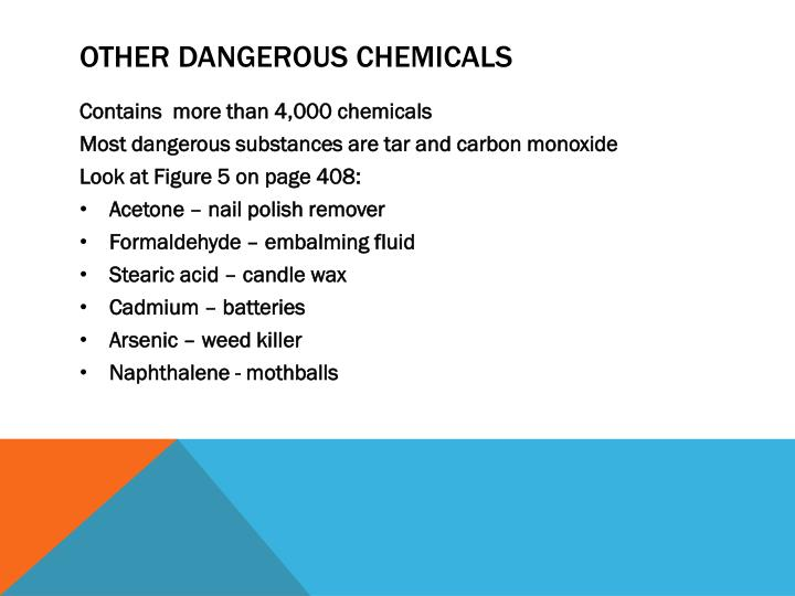 Other Dangerous Chemicals