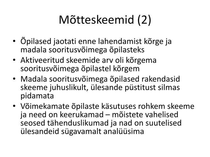 Mõtteskeemid (2)