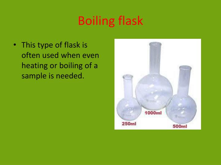 Boiling flask