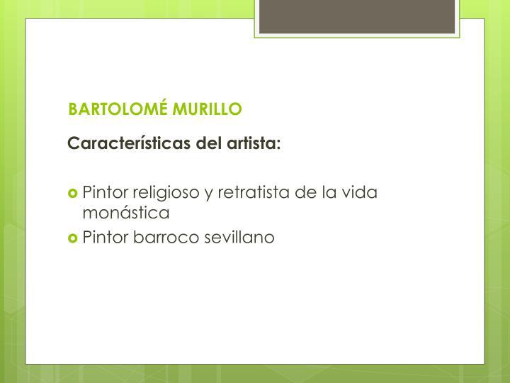 BARTOLOMÉ MURILLO