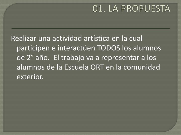 01. LA PROPUESTA