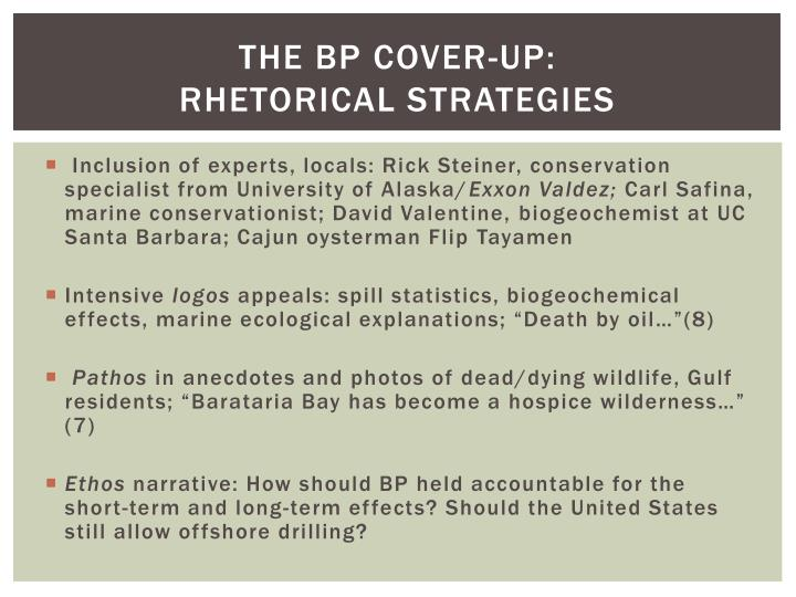 The BP Cover-Up:
