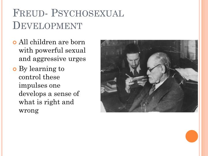 Freud- Psychosexual Development