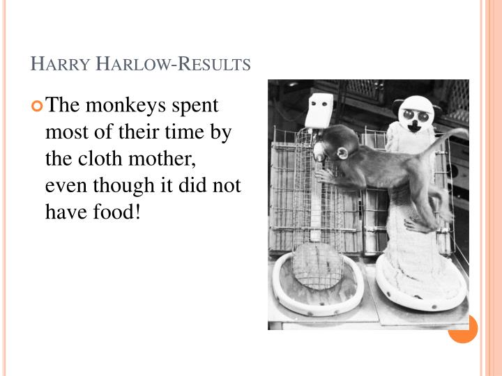 Harry Harlow-Results