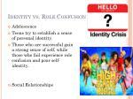 identity vs role confusion
