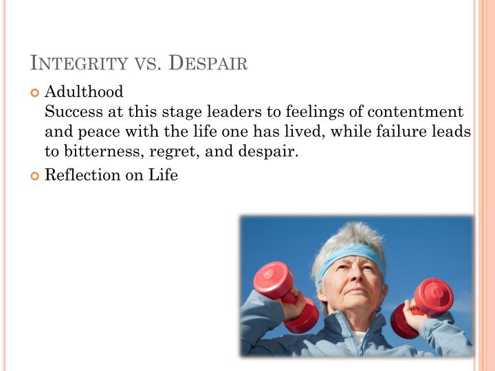 Integrity vs. Despair