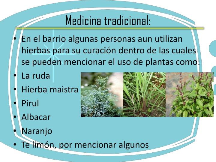 Medicina tradicional: