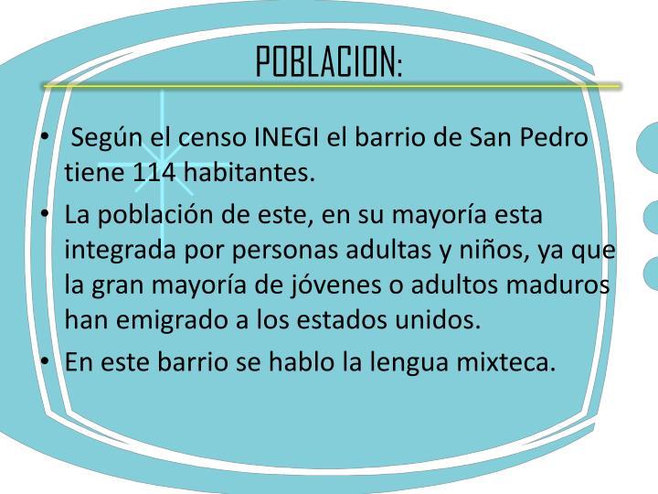 POBLACION: