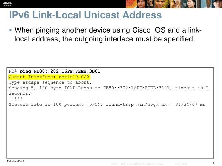 IPv6 Link-Local