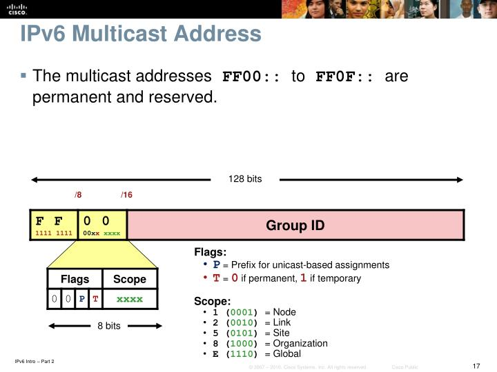 IPv6 Multicast Address