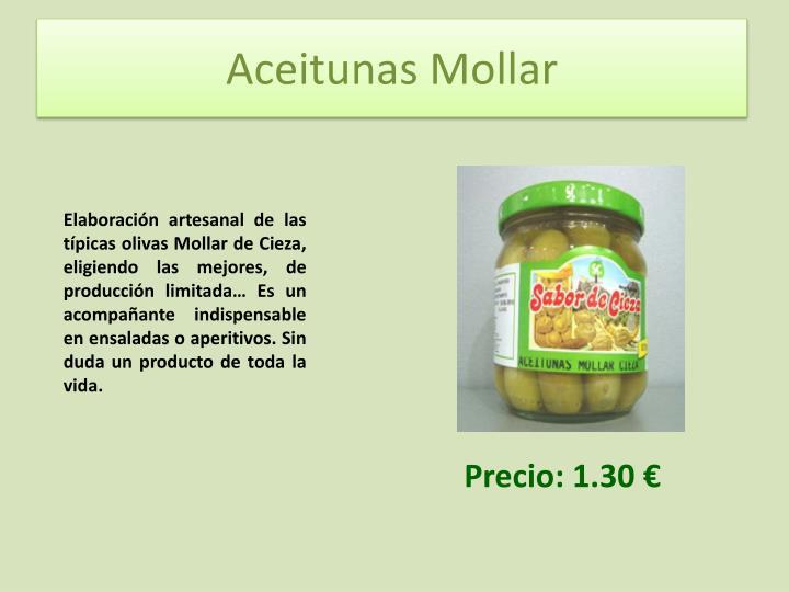 Aceitunas Mollar