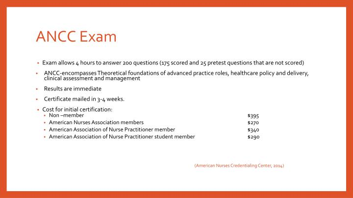 ANCC Exam