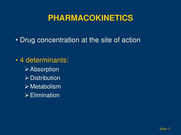 Pharmacokinetics