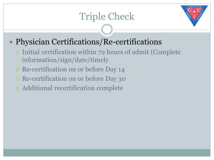 Triple Check