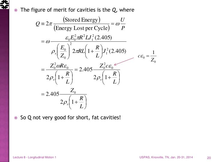 Lecture 8 - Longitudinal Motion 1