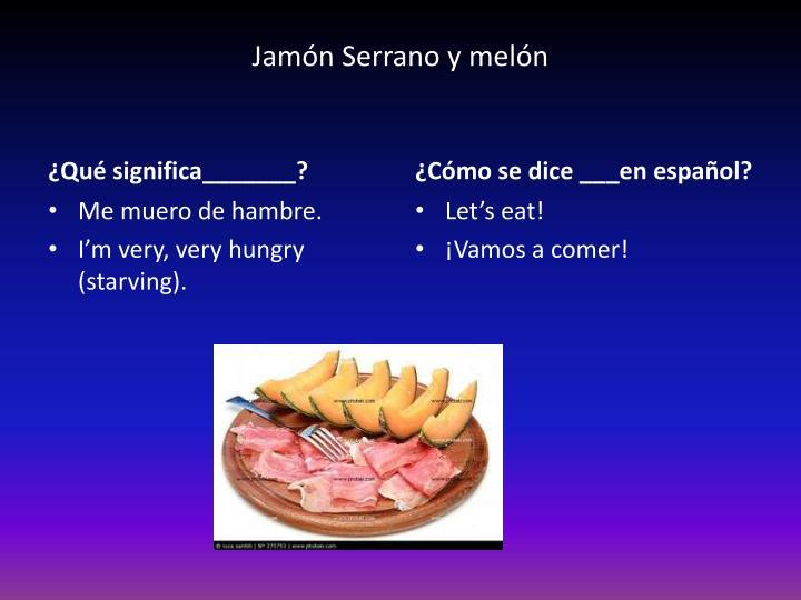 Jamón