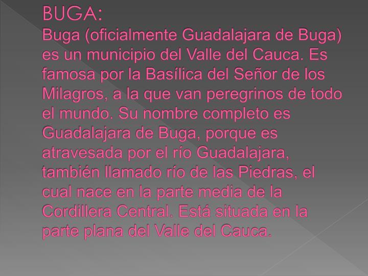 BUGA: