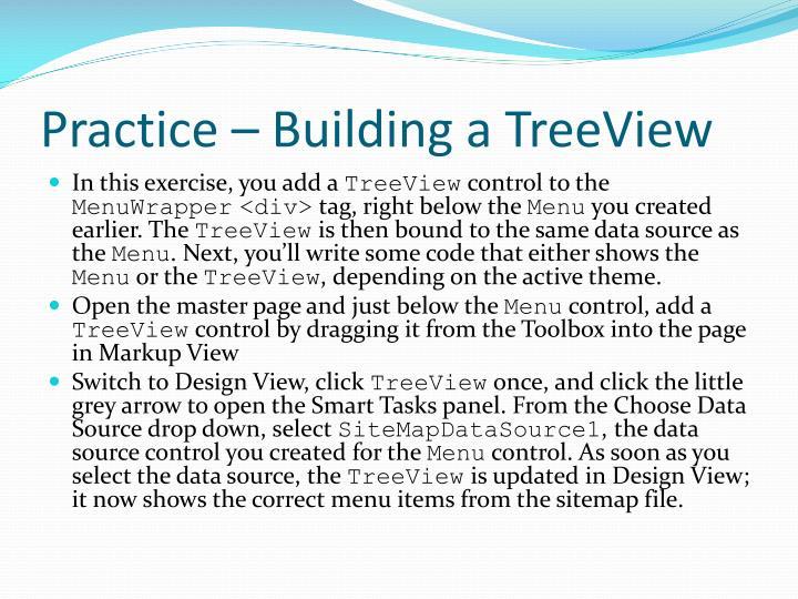 Practice – Building a