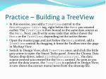 practice building a treeview