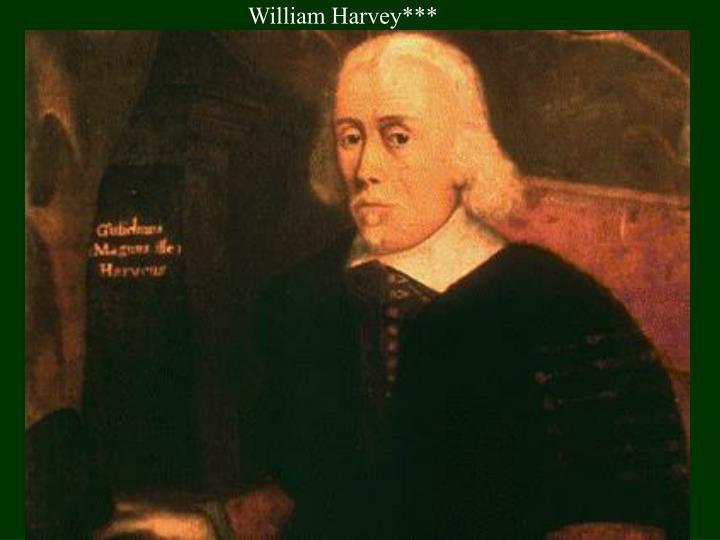 William Harvey***
