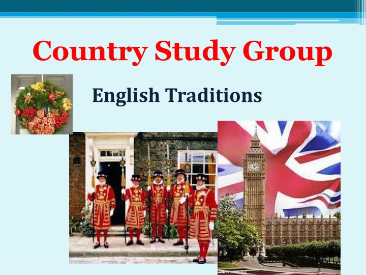 Country Study Group