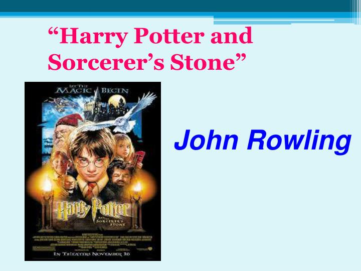 """Harry Potter and Sorcerer's Stone"""