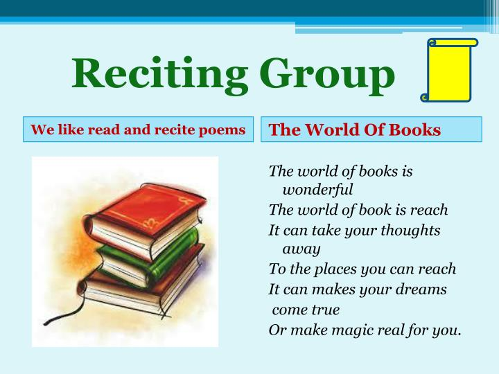 Reciting Group