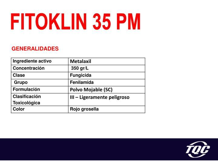 FITOKLIN 35