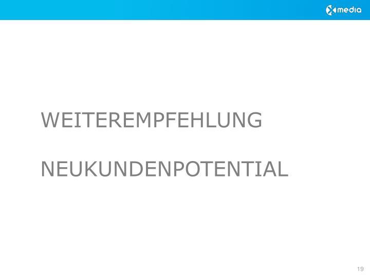 WEITEREMPFEHLUNG