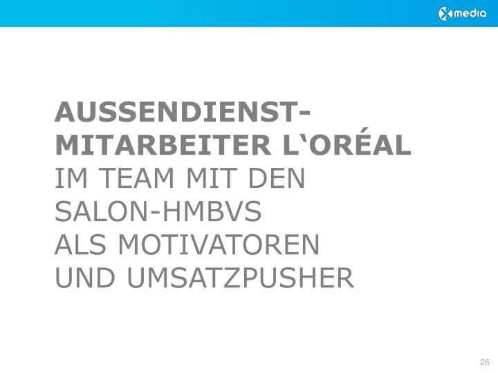 AUSSENDIENST-MITARBEITER