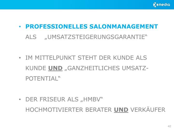 PROFESSIONELLES