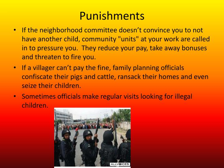 Punishments