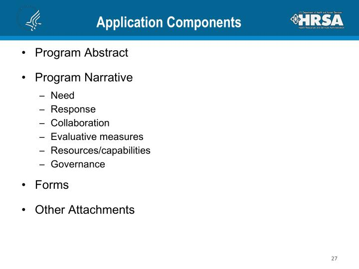 Application Components