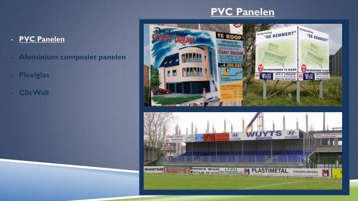 PVC Panelen