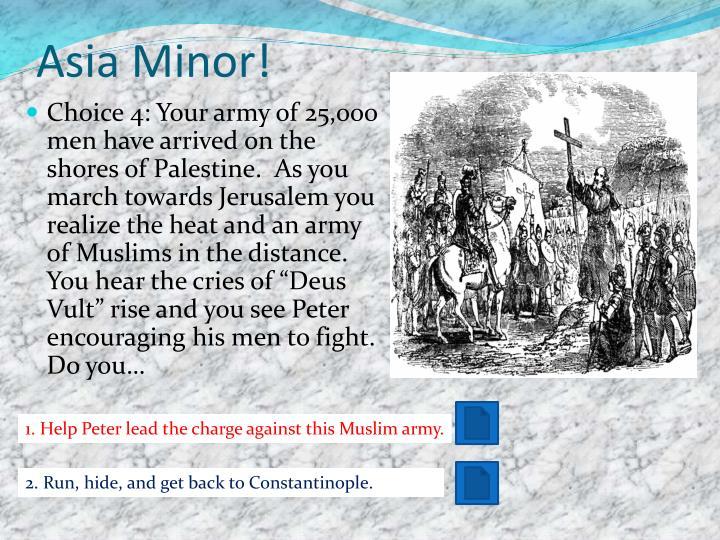 Asia Minor!