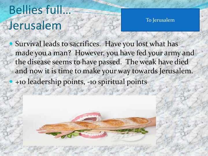 To Jerusalem