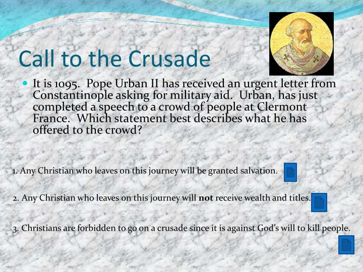 Call to the crusade