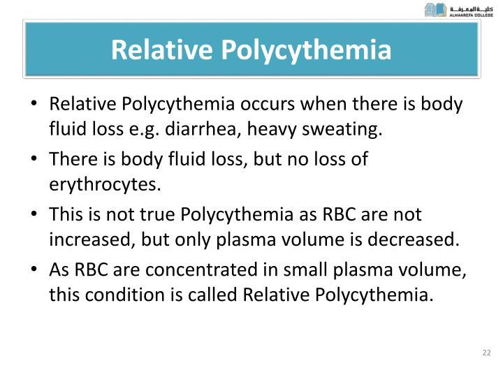 Relative Polycythemia