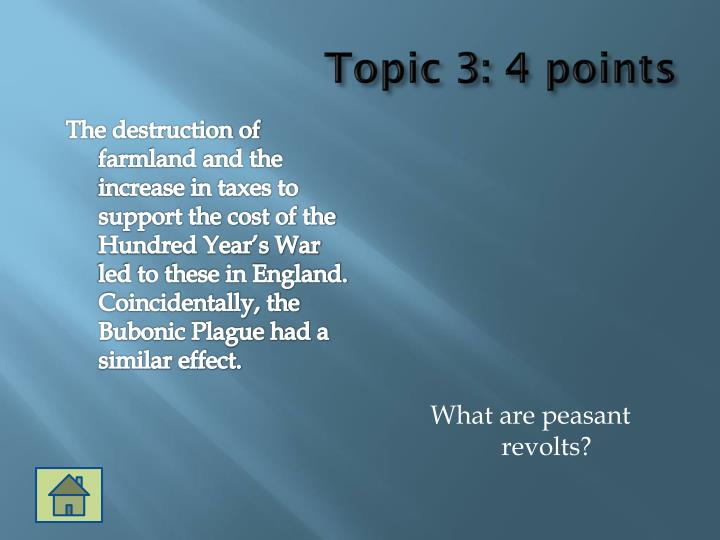 Topic 3: 4 points