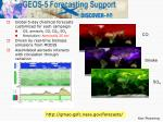 geos 5 gocart forecasts