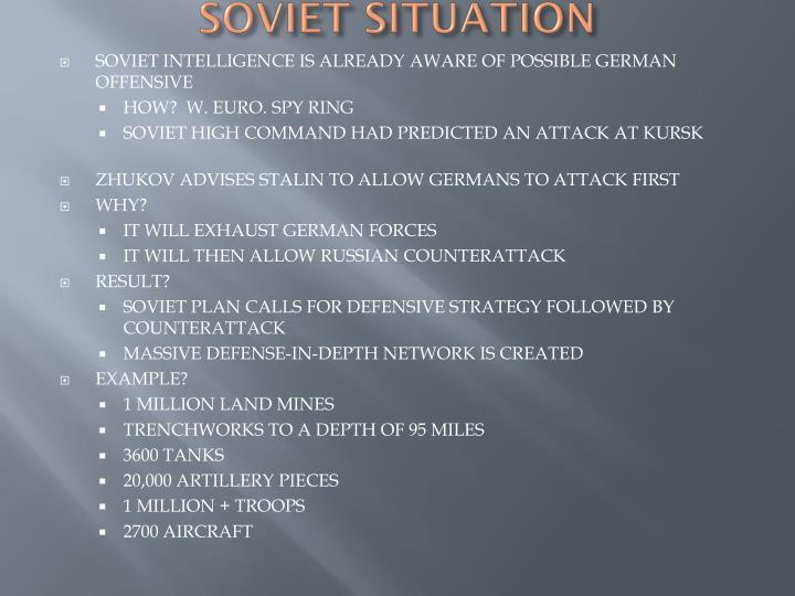 SOVIET SITUATION