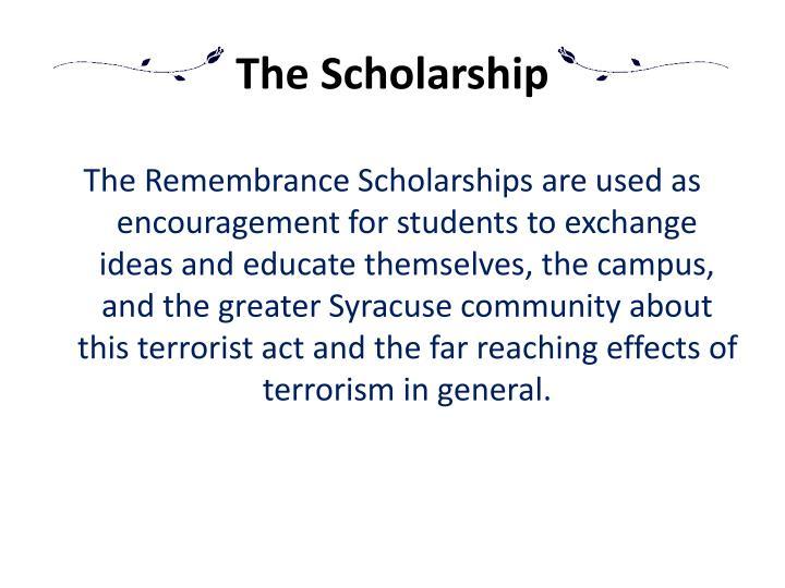 The Scholarship