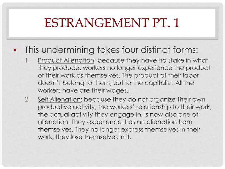 Estrangement Pt. 1