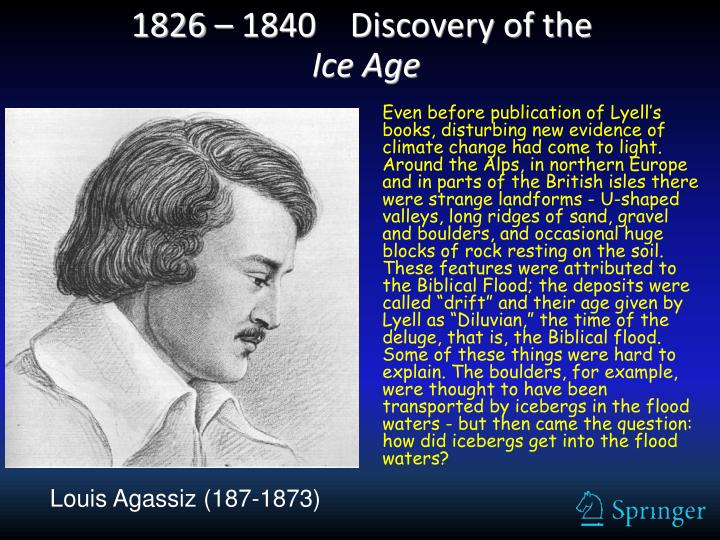 1826 – 1840    Discovery of the